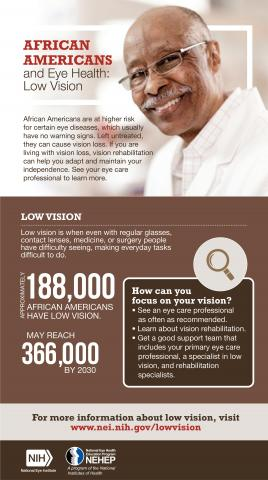 image tagged with eye disease, vision, nei, information, national eye health education program, …;