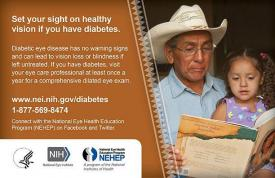 image tagged with vision loss, eye health, diabetes, diabetic eye disease, national eye health education program, …;