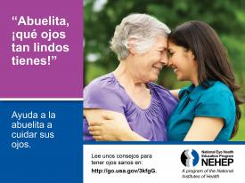 image tagged with family, national eye health education program, latina, adults, eyes, …;