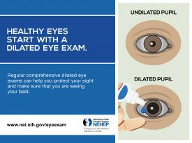 image tagged with dilated eye, eye exam, dilated, healthy vision, health tips, …;