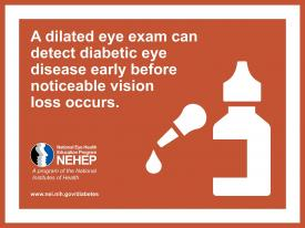 image tagged with diabetic eye disease, infographic, eye, diabetes, dilated, …;