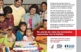 image tagged with eye health, national eye health education program, spanish, glaucoma, family history, …;