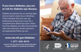 image tagged with vision loss, health, diabetic retinopathy, eye health, national eye health education program, …;
